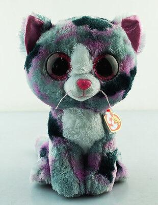 8 5  Ty Beanie Boos Glitter Eyes Lindi Cat Animal Girl Gift Plush Stuffed Toys