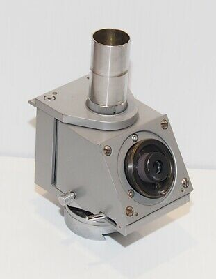 Reichert Zetopan Microscope Swivelling Head With Photo Tube