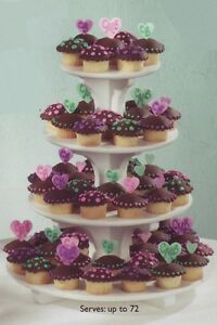 cake-or-cupcake-stands-ROUND-SQUARE-SCALLOPED-STAGGERED-2-3-4-tier-Dessert-Tree
