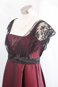 Edwardian-Titanic-evening-dress-Downton-Abbey-styled-Handmade-in-UK-12-UK-8US