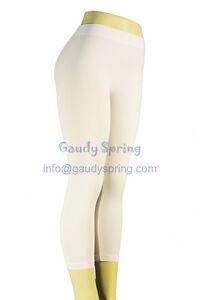 SEXY-Ultra-Stretch-Yoga-Sports-TIGHTS-Cropped-Pants-S-M-L-Capri-LEGGINGS-White