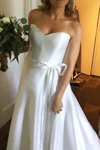 KAREN WILLIS HOLMES Kitty Wedding Dress - size 10-12 Neutral Bay North Sydney Area Preview