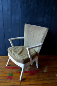 pair vintage G-plan style chairs