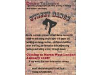 Desire to Inspire Street dance for children and young people