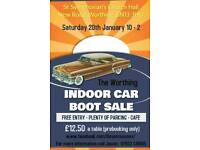Indoor Car-boot Boot sale