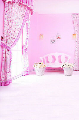 Baby Girl Photo Pink Room Indoor Background Studio Props 3x5ft Vinyl Backdrop](Baby Girl Background)