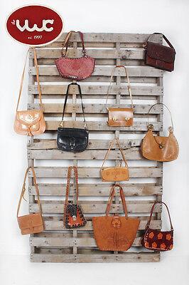 VINTAGE WHOLESALE Women's Western Leather Bag Satchel Mix x 25