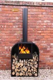 Large log burner