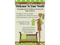 FREE INTRODUCTORY OFFER! Bespoke interior design service for your baby's nursery