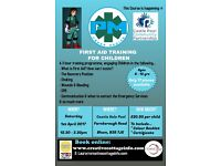 FIRST AID TRAINING FOR KIDS (6 - 12 YEARS)