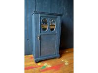 vintage painted cupboard