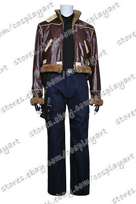 Resident Evil 4 Leon Kennedy Cosplay Costume Halloween Party Jacket Outfits Cool](Resident Evil 4 Leon Halloween Costumes)