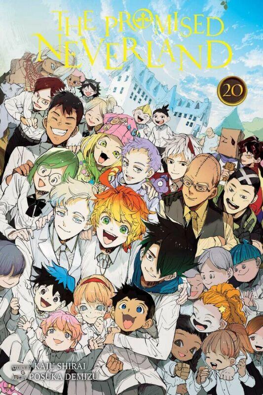 The Promised Neverland Manga Volume 20