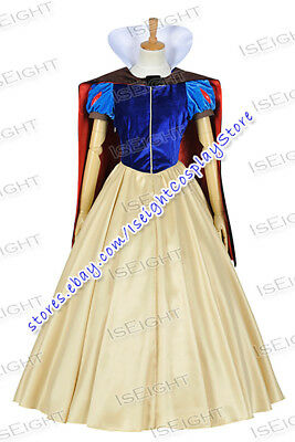 Snow White And The Seven Dwarfs Cosplay Princess Snow White Costume Dress Party