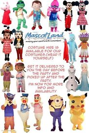 Mascot Costumes for hire