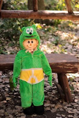 Gummi Bear Costume (Children's Gummibär (The Gummy Bear) Costume - 4-6)