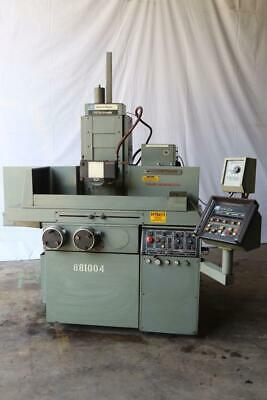Used 8x18 Brown Sharpe 818 Techmaster Hydraulic Surface Grinder