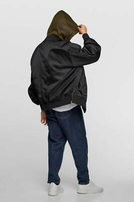Zara bomber jacket with removable hood - NWT