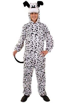 ★ Dalmatiner Schwarze Weiß Hund Kostüm Tier ,Tierkostüm S,M,L,XL Unisex,Tieren (Dalmatiner Kostüm Kostüm)