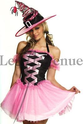 Sale !!! M UK 12 Pink Good Witch Costume Dress Leg Avenue Genuine Halloween (Real Witch Costumes)