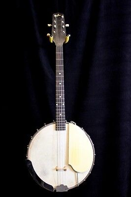 late 20' to early 30's Gibson TB-1 Tenor Banjo Conversion.