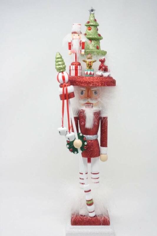 Holly Adler Hollywood Nutcracker Kurt Adler Christmas Decorations Red White Tree