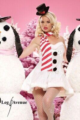 Winter Wonderland Costume (Leg Avenue 83462'MISS WINTER WONDERLAND' Christmas costume xmas -)