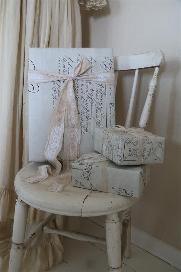 Jeanne d´Arc Living Geschenkpapier Vintage Papier JDL Verpackung 2,75 m Shabby