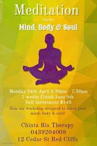Meditation for Mind, Body and Soul Red Cliffs Mildura City Preview