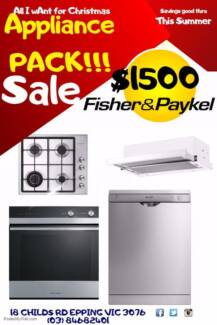 Fisher & Paykel  appliance pack