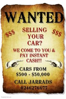 Wanted: CARS WANTED - CASH PAID