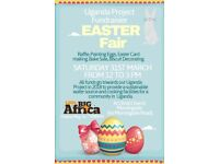 Easter Fair Fundraiser at Christ Church, Holy Corner 31st March 2018