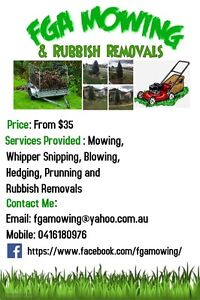 FGA Mowing & Rubbish Removals Wacol Brisbane South West Preview