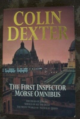 COLIN DEXTER-1ST INSPECTOR MORSE OMNIBUS 3 IN 1 BOOK PAPERBACK