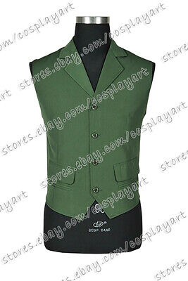 Batman Cosplay The Joker Costume Green Vest Comfortable Fast Shipping Uniform](Easy Batman Costume)