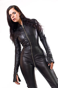 Leather Catsuit Body Suit Leather Catsuit Jumpsuit Made-to-measure