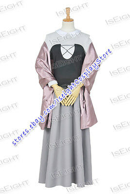 Sleeping Beauty Princess Aurora Briar Rose Dress Cosplay Costume Halloween Party