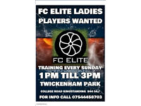 PLAYERS WANTED (FEMALE ONLY)