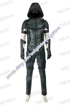 Arrow: Season 4 Superhero Green Arrow Oliver Queen Cosplay Costume Halloween New - Halloween Costumes Green Arrow