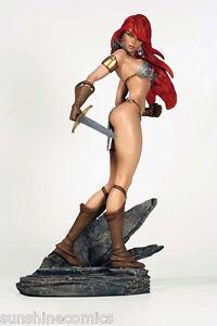 Red-Sonja-Statue-J-Scott-Campbell-Diamond-Eye-Edition-Dynamite-NEW-SEALED