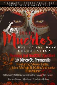 Los Dia De Morta Day of the Dead Celebration