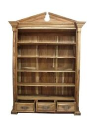 Solid Wood Display Bookcase