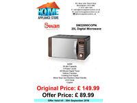 Swan 20L Digital Microwave SM22090COP