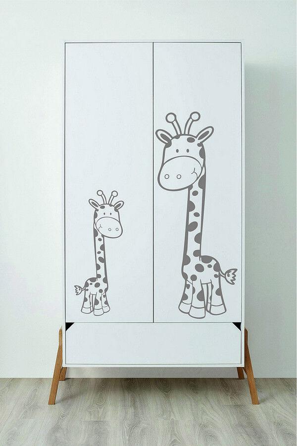 custom wall stickers giraffe vinyl art room decal wardrobe decor