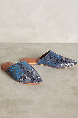 c24ce43c1c31 NIB Anthropologie Jasper   Jeera Iridescent Slides Shoes sz 39 for sale  Shipping to Ireland