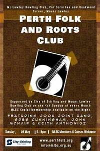 Perth Folk and Roots Club Mount Lawley Stirling Area Preview