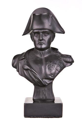 French Emperor Napoleon Bonaparte Stone Bust Statue Sculpture 5.3