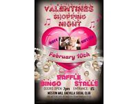 Valentines Ladies Shopping Night