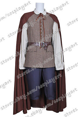 Pirates Of The Caribbean Cosplay Will Turner Costume Outfits Cloak Halloween  - Pirates Of The Caribbean Will Turner Costume