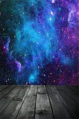 Abstract Backdrops Blue Universe Photo Props Starry Sky Background Studio 3x5ft